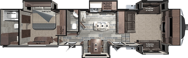 Highland Ridge RV has released another NEW floorplan for