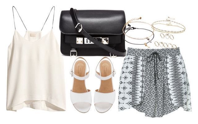 Untitled #998 by plainly-marie on Polyvore featuring polyvore, fashion, style, H&M, Zara, Proenza Schouler and ASOS