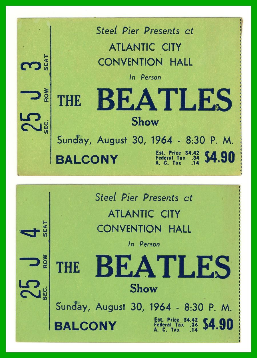 "Beatles at Convention Hall ………For more classic pictures of the 60's, 70's and 80's please visit and ""LIKE"" my Facebook page at https://www.facebook.com/pages/Roberts-World/143408802354196"