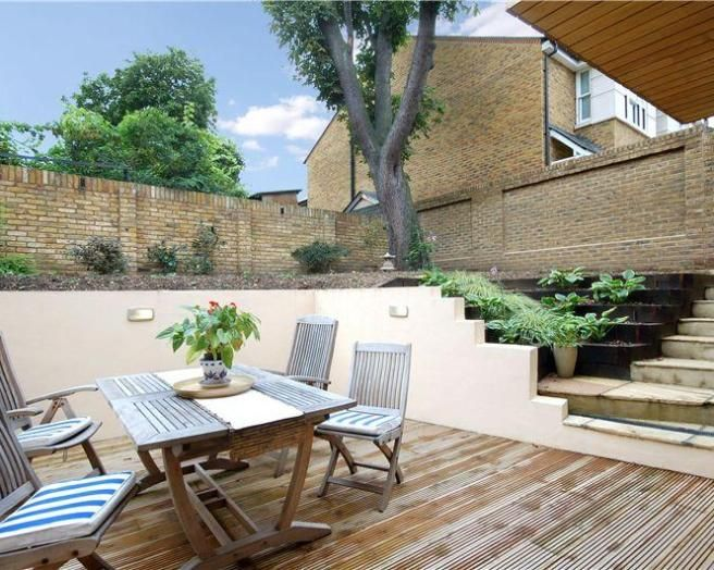 photo of garden gardens and al fresco decking outdoor furniture patio patio area