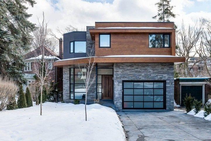 Récente charmante maison contemporaine sur le marché immobilier