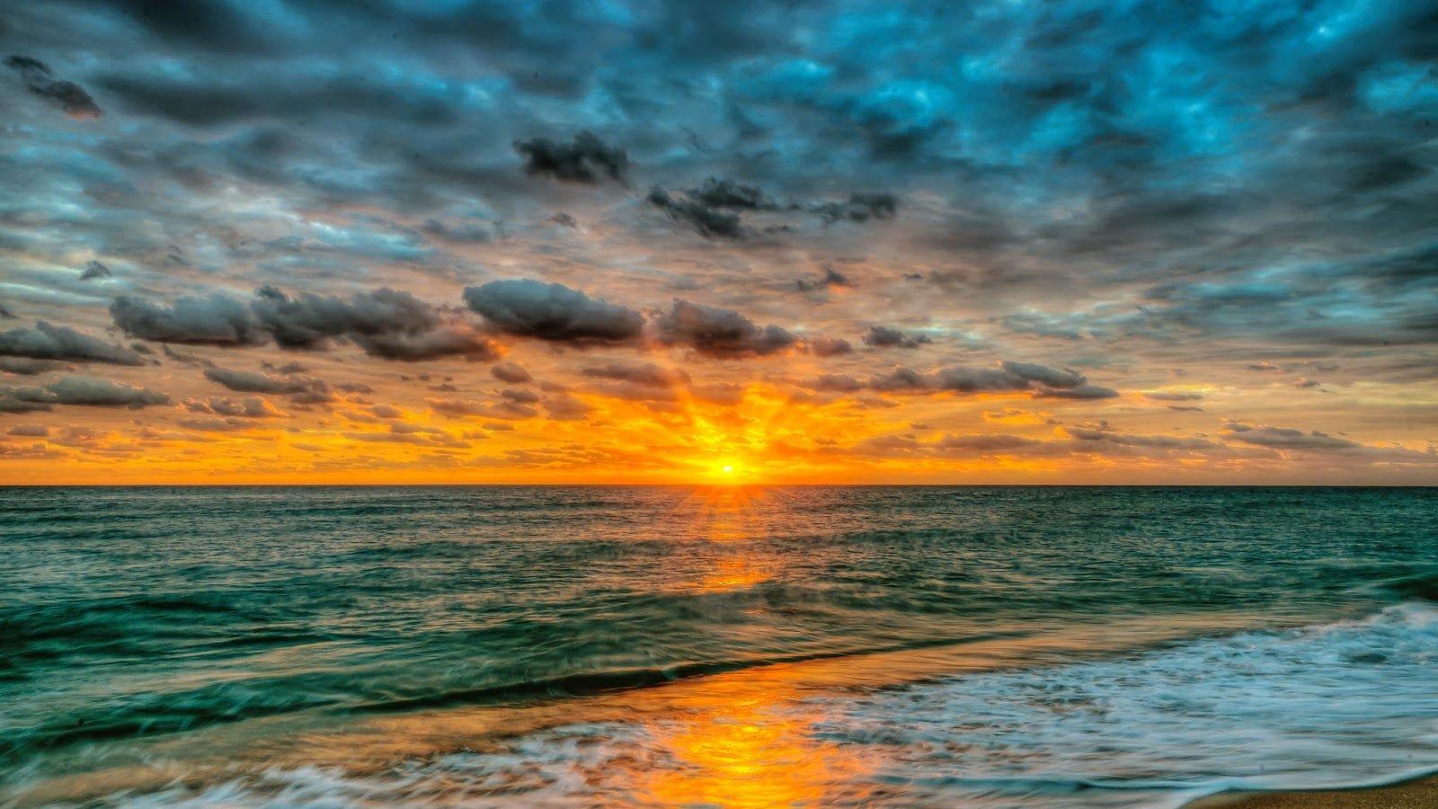 Beautiful Sunrise Hd Summer Landscape Landscape Wallpaper Sunrise Landscape