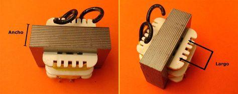 Como Calcular Un Transformador De Voltaje Transformadores Proyectos Electronicos Esquemas Electricos
