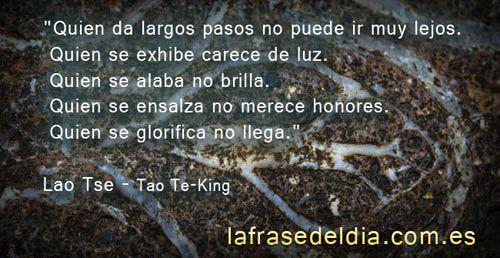 Frases Célebres De Lao Tse Tao Frases Zen