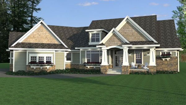 Pin By Best Selling House Plans On One Story House Plans