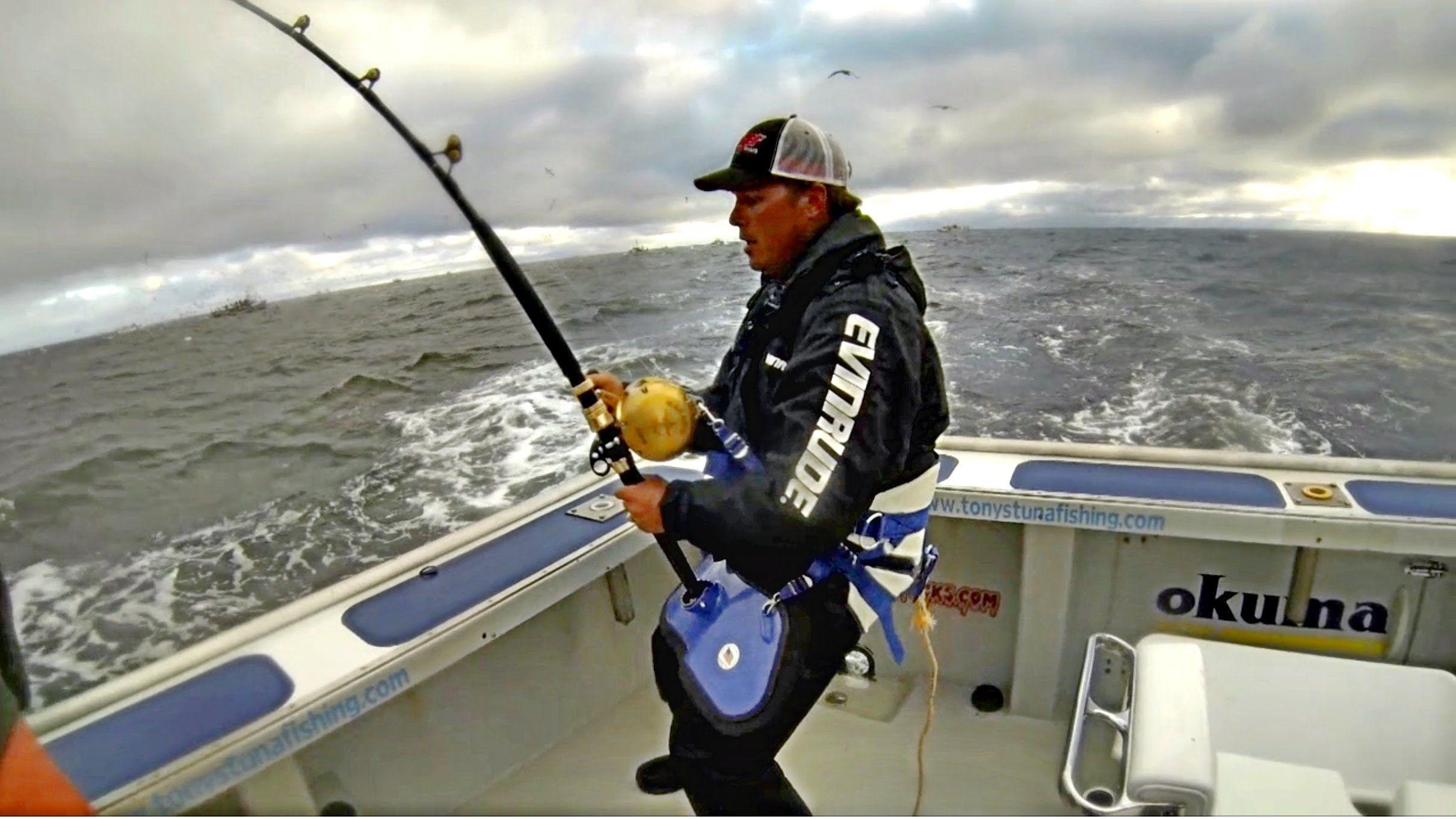 Smc season 10 6 how to catch a 1000 pound bluefin tuna for Tuna fishing pole