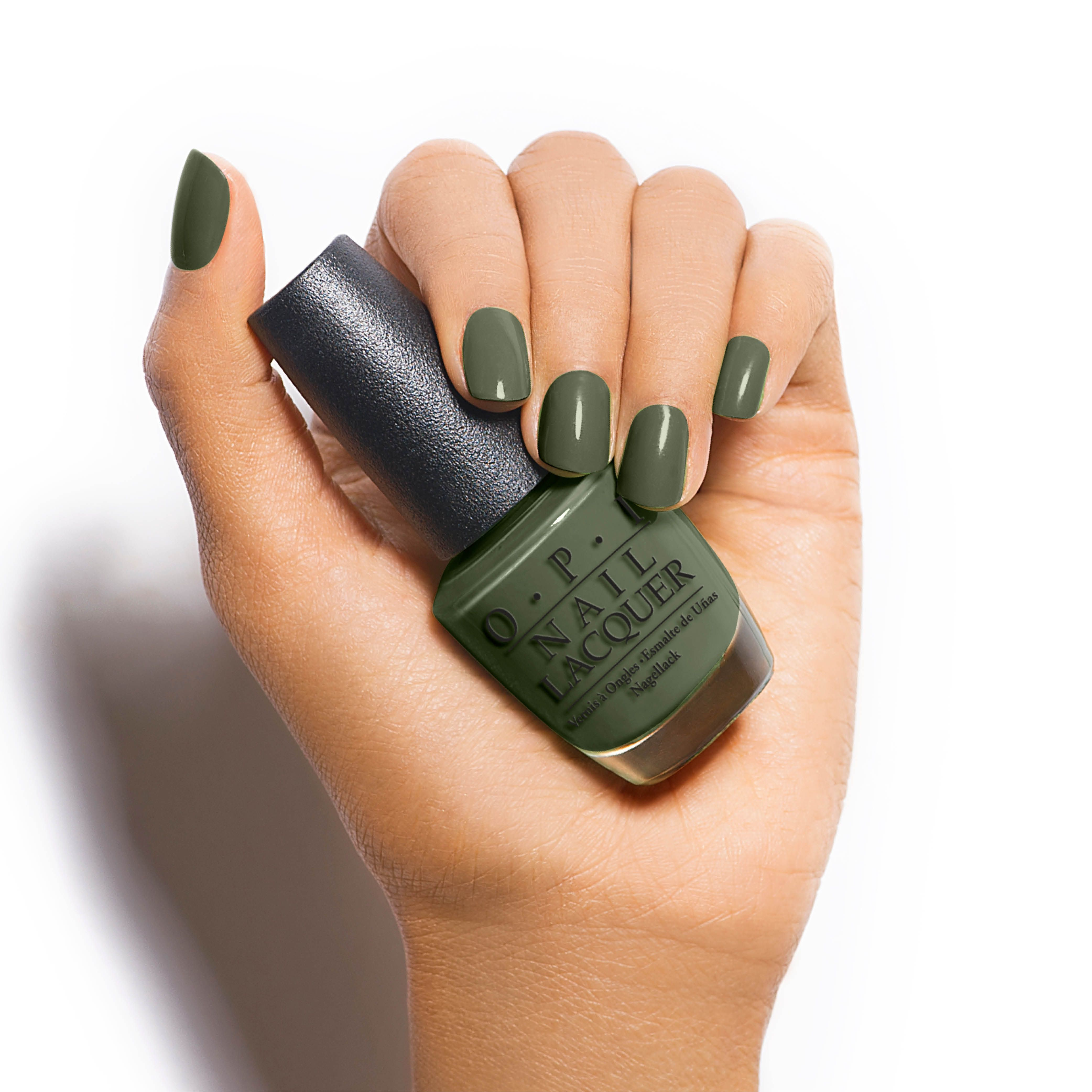 How To Make Olive Green Nail Polish: The First Lady Of Nails: Command The Political