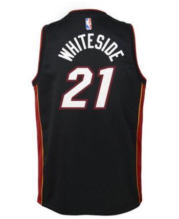 364407284b97 Nike Hassan Whiteside Miami Heat Icon Swingman Jersey