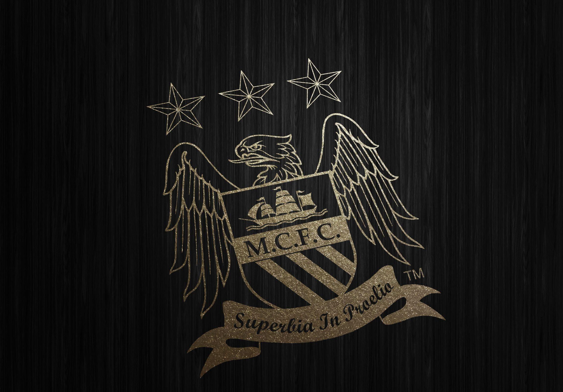 Manchester City Gold Wallpaper HD | Manchester city logo ...
