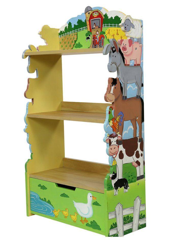 FantasyFields® Bücherregal »Happy Farm«, Standregal mit