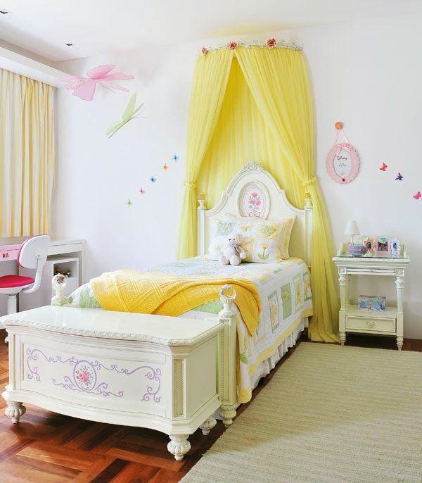 Resultado de imagem para quarto de princesa cama com dossel