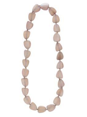 Mocca organic bone necklace