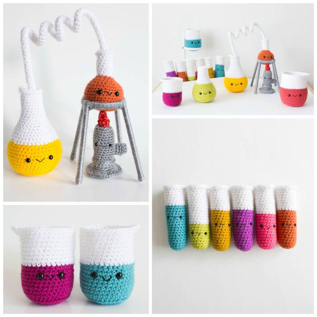 Crochet An Amigurumi Chemistry Set So Cute And Super