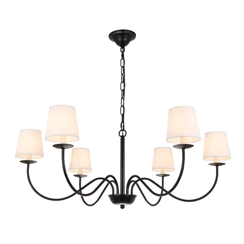 Goin 6 Light Shaded Classic Traditional Chandelier Traditional Chandelier Chandelier Shades Light Shades