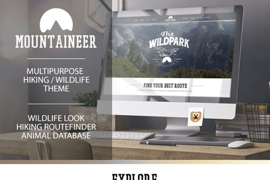 Mountaineer Hiking And Wildlife In 2020 Wildlife Hiking Motion Graphics Inspiration