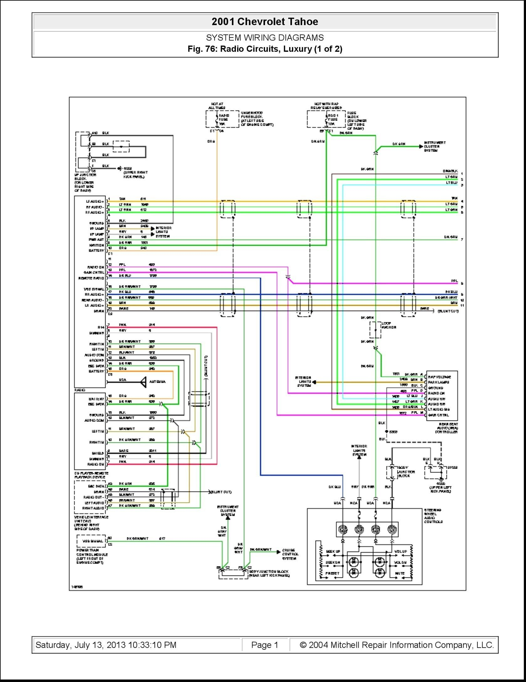 2004 Chevy Trailblazer Radio Wiring Diagram Elegant Di 2020