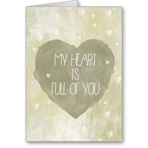 Heart Full of You card