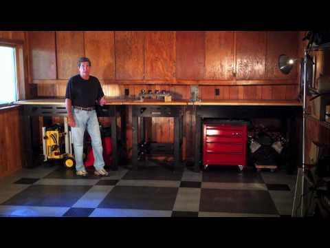 DIY Work Bench, Custom Work Bench, Build To YOUR Correct Work Height    YouTube