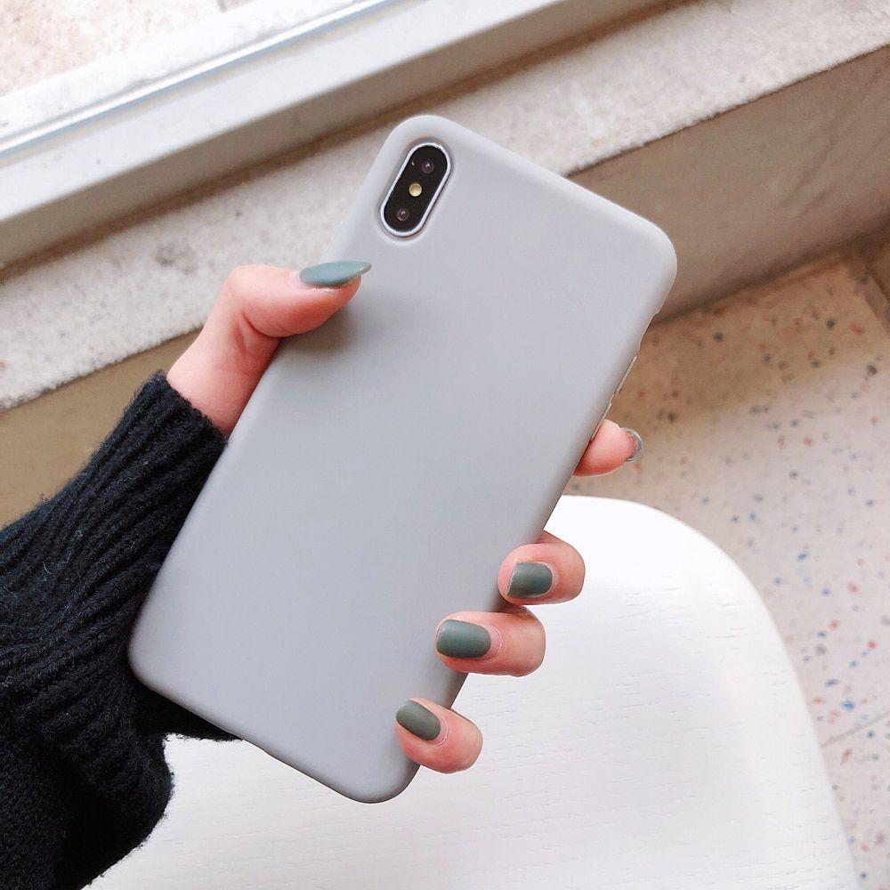 Silicone Phone Case For Iphone 6 6s 7 8 Plus X Xr Xs Max 11 Pro Isthel Case Produk Desain Produk