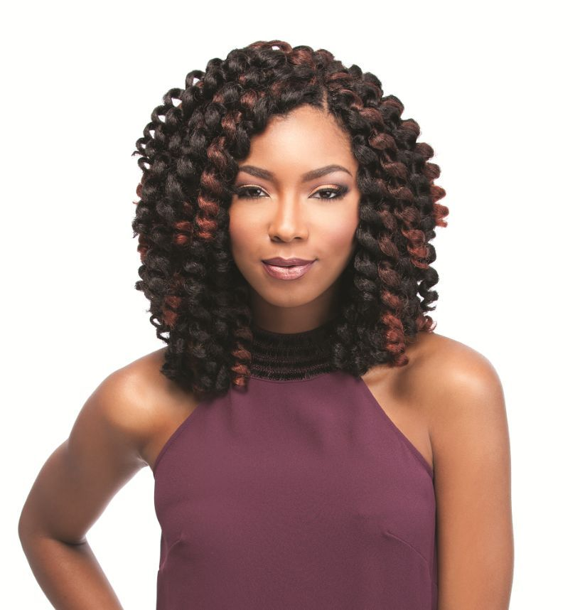 "Jamaican Cornrow Hairstyles: Sensationnel African Collection- Jamaican Bounce 26"" Or 50"