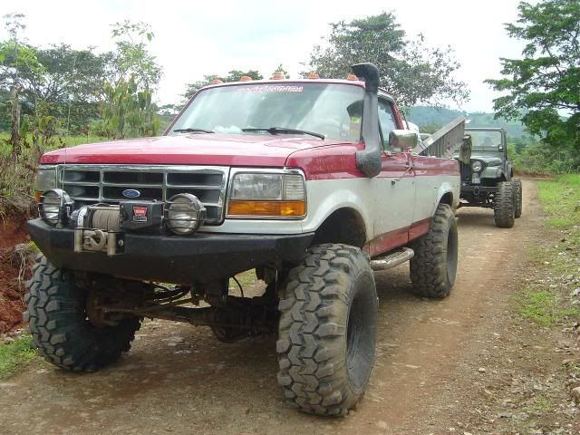 For Bronco Off Road Bumper Bumper On 92 97 Bodystyle Fords
