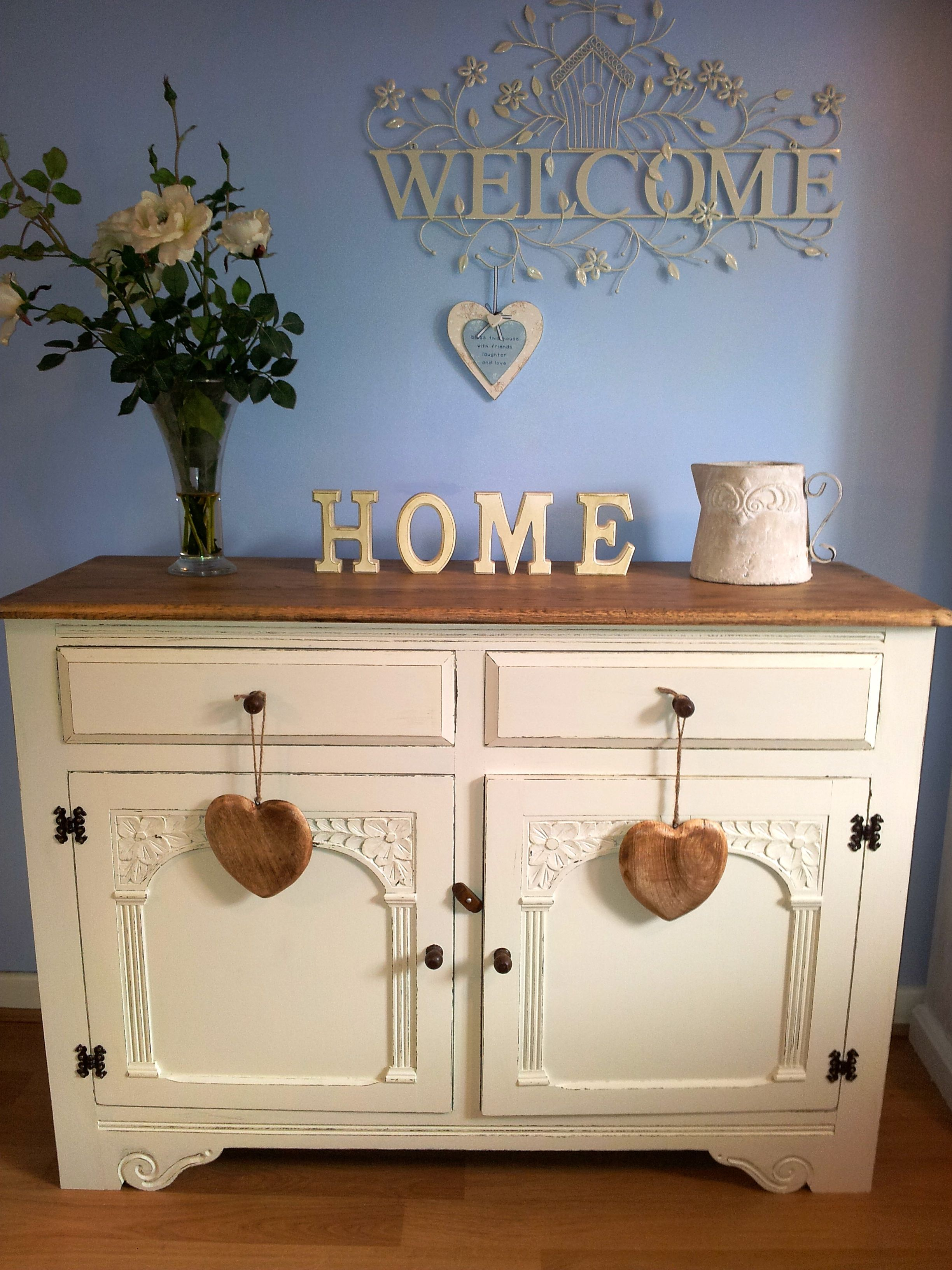 Sideboard painted in Farrow u0026 Ball Clunch