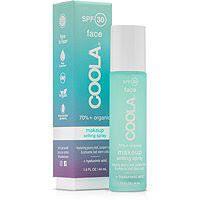 coola classic spf 30 makeup setting spray green tea / aloe