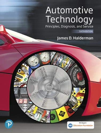 Automotive Technology Principles Diagnosis And Service Pearson Automotive Series By James Halderman Pearson Technology Repair And Maintenance Heating Repair