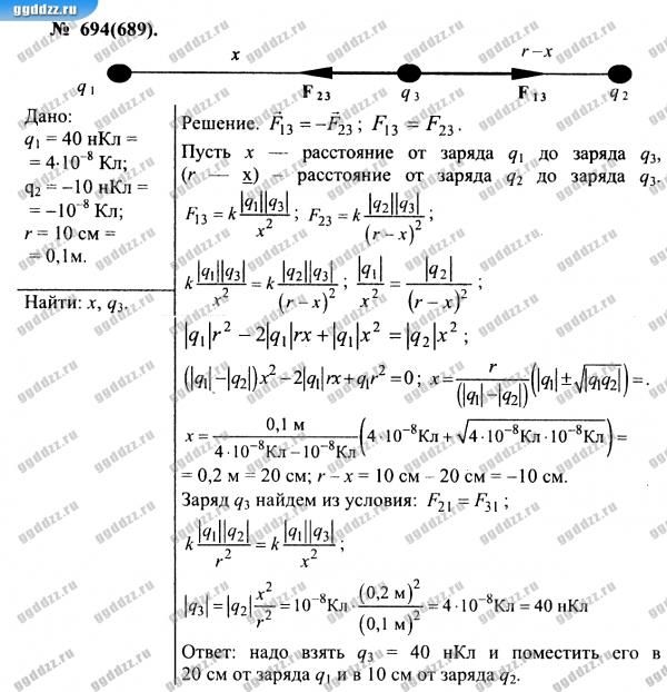 Гдз на задачник по физике а.п.рымкевича бесплатно