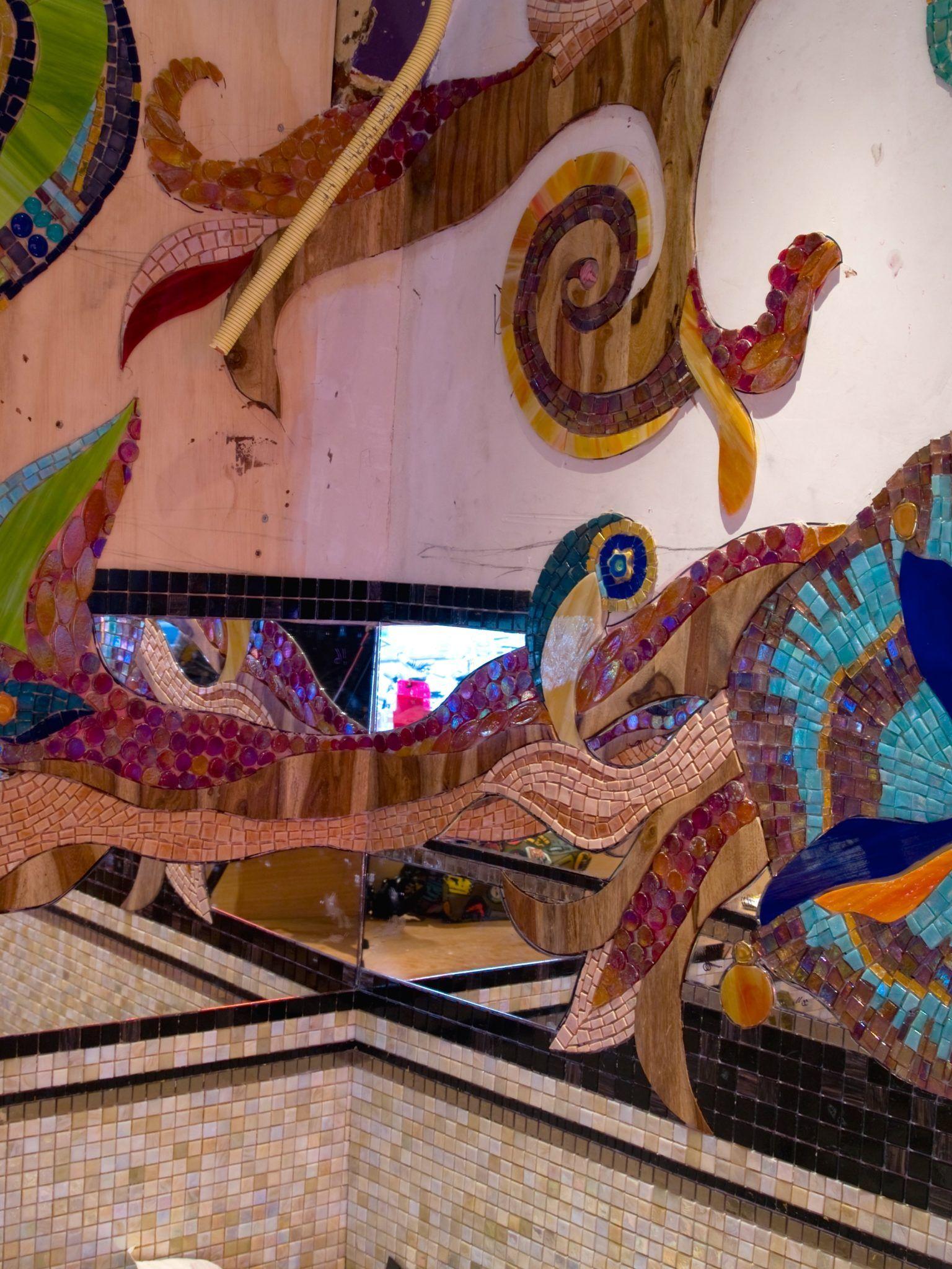 Coffeeshop Amsterdam Abraxas Mozaiek Siomara Van Eer Mosaicaffairs