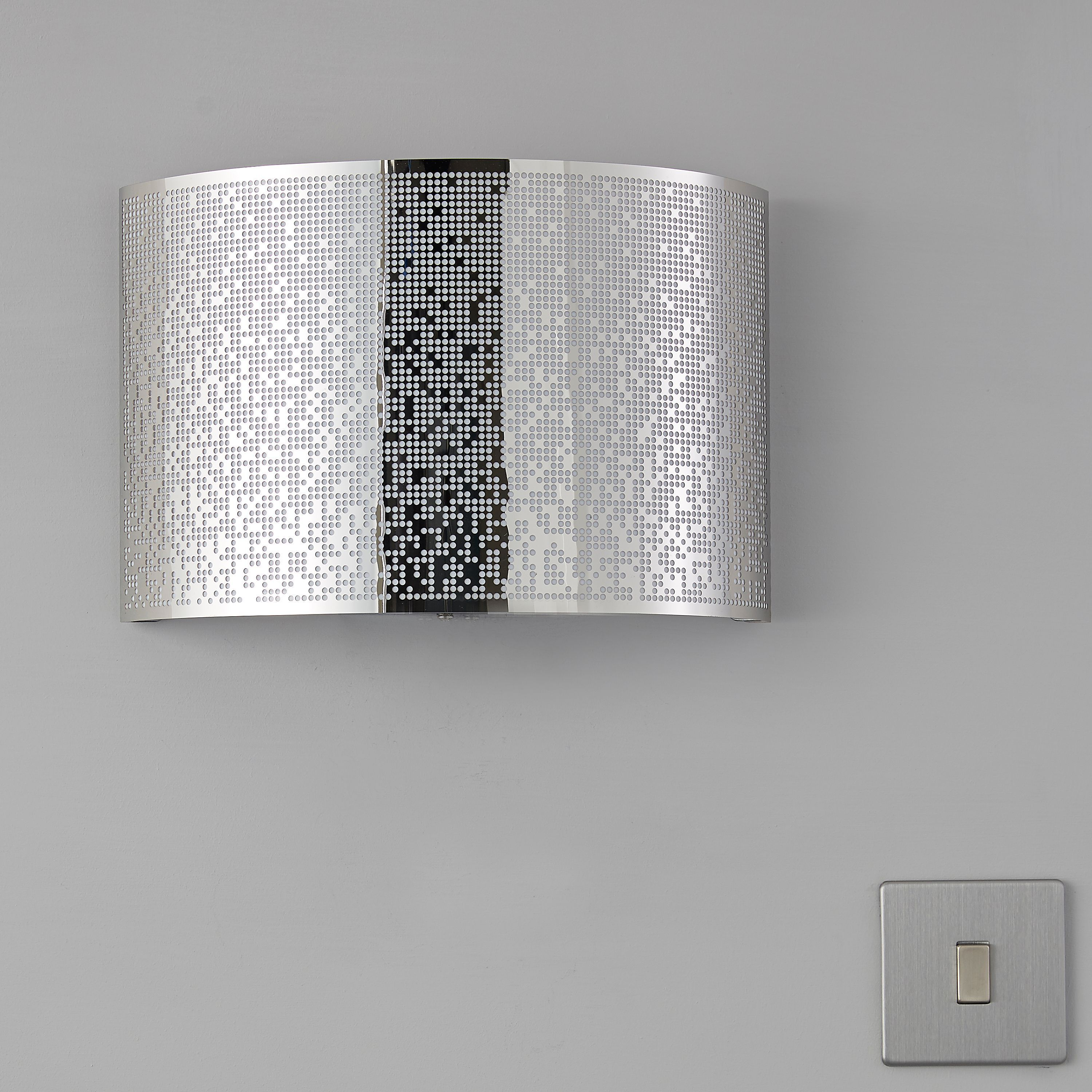 Diy supplies accessories diy at b q - Klerk chrome effect single wall light b q for all your home and garden supplies and advice on all the latest diy trends