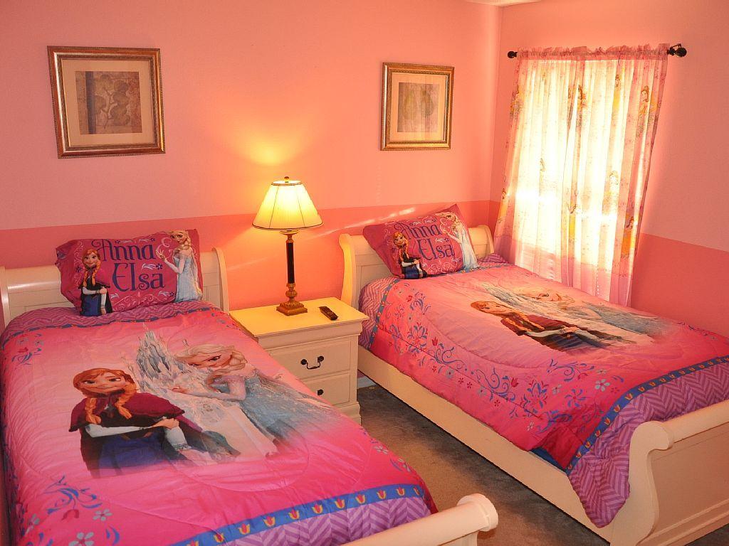 Disney Frozen Pink Bedroom Kamar Anak Perempuan Kamar Tidur Anak Rumah Luxury frozen room pictures