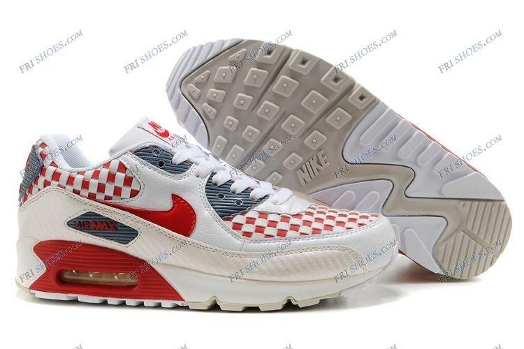 Mens Nike Air Max 90 Shoes White Royal Red nike shoes india Regular Price:  $239.00