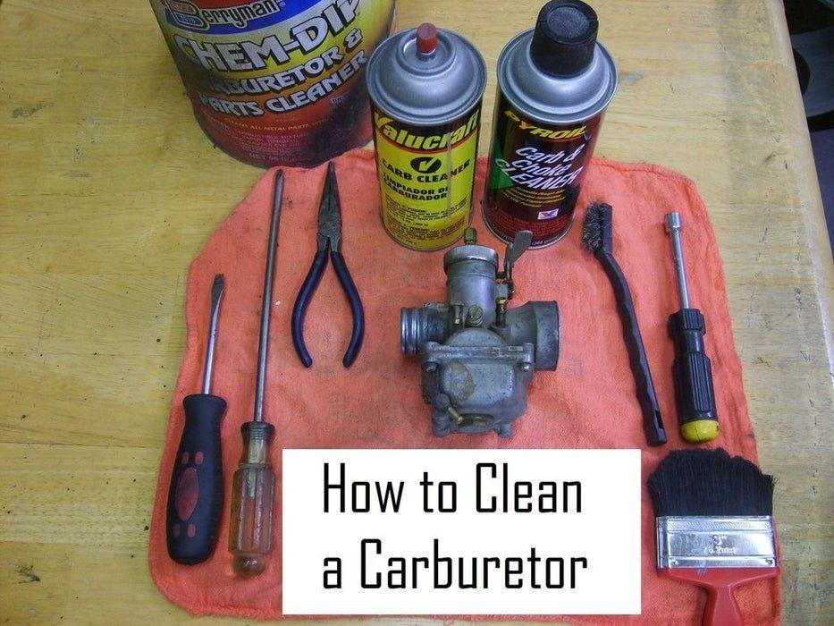 Cleaning a carburetor in 8 easy steps lawn mower repair