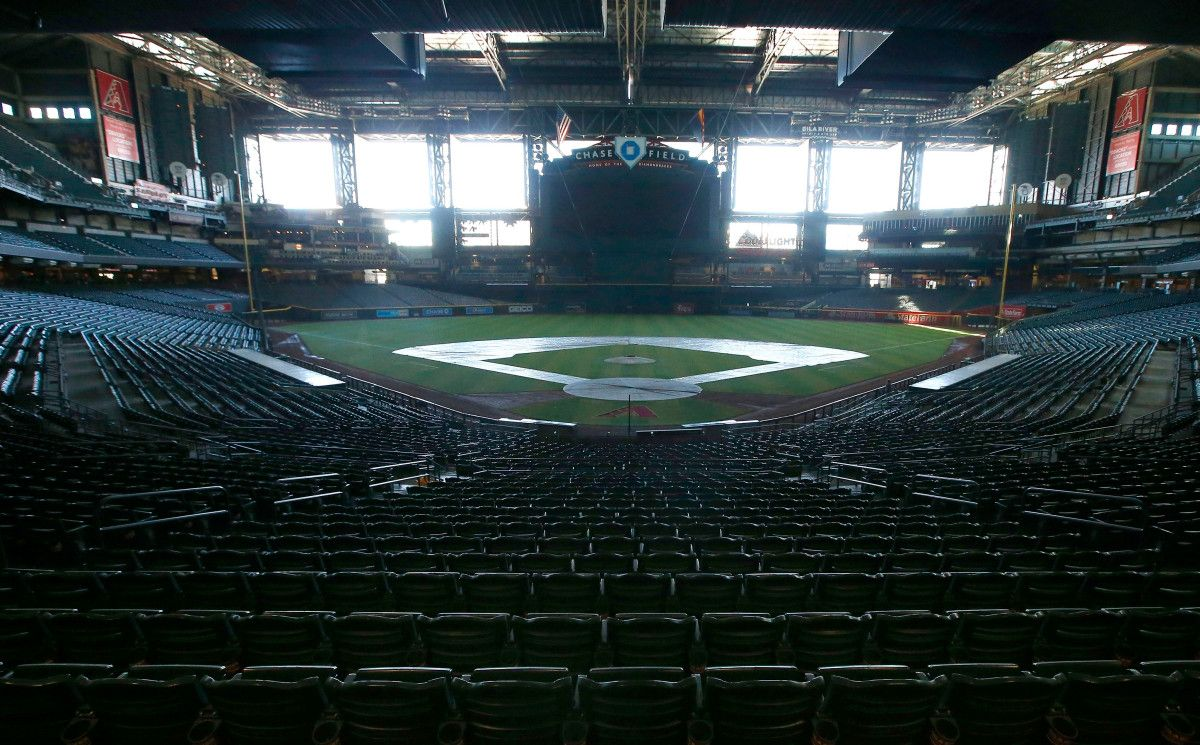 Arizona governor Pro sports can resume without fans in