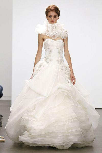 Vera Wang Fall 2013 Bridal.