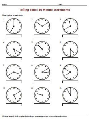 Time Worksheets time worksheets to the nearest 15 minutes : Top 25 ideas about Telling Time on Pinterest | Telling time, Place ...