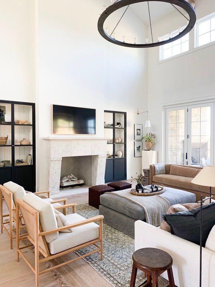 Geoffrey Chandelier Minimalist Living Room Living Room Design Modern Living Room Designs