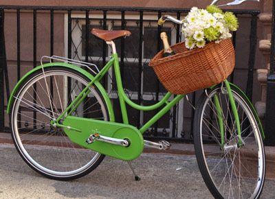 Vintage style bike.