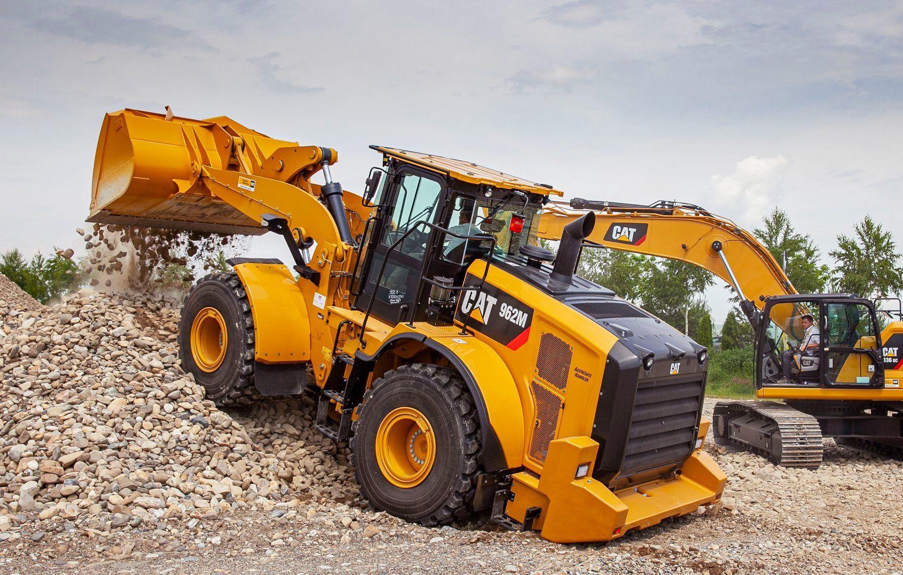 Cat wheel loader Mining equipment, Tractors, Vehicles