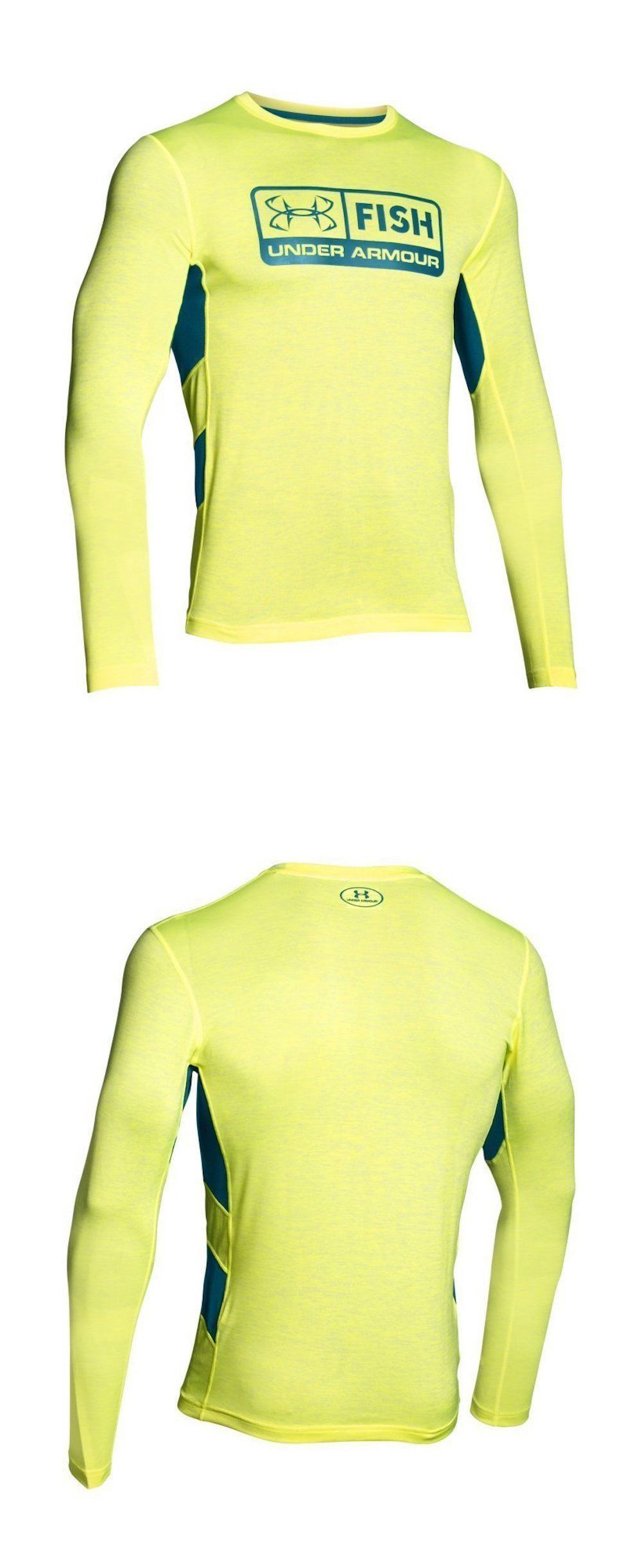 Shirts and tops new under armour fish hunter tech long