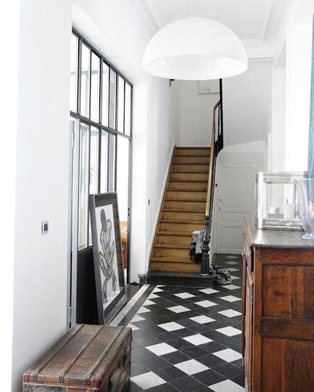 This Entry Sodeco Canalblog Com Carrelage Noir Et Blanc