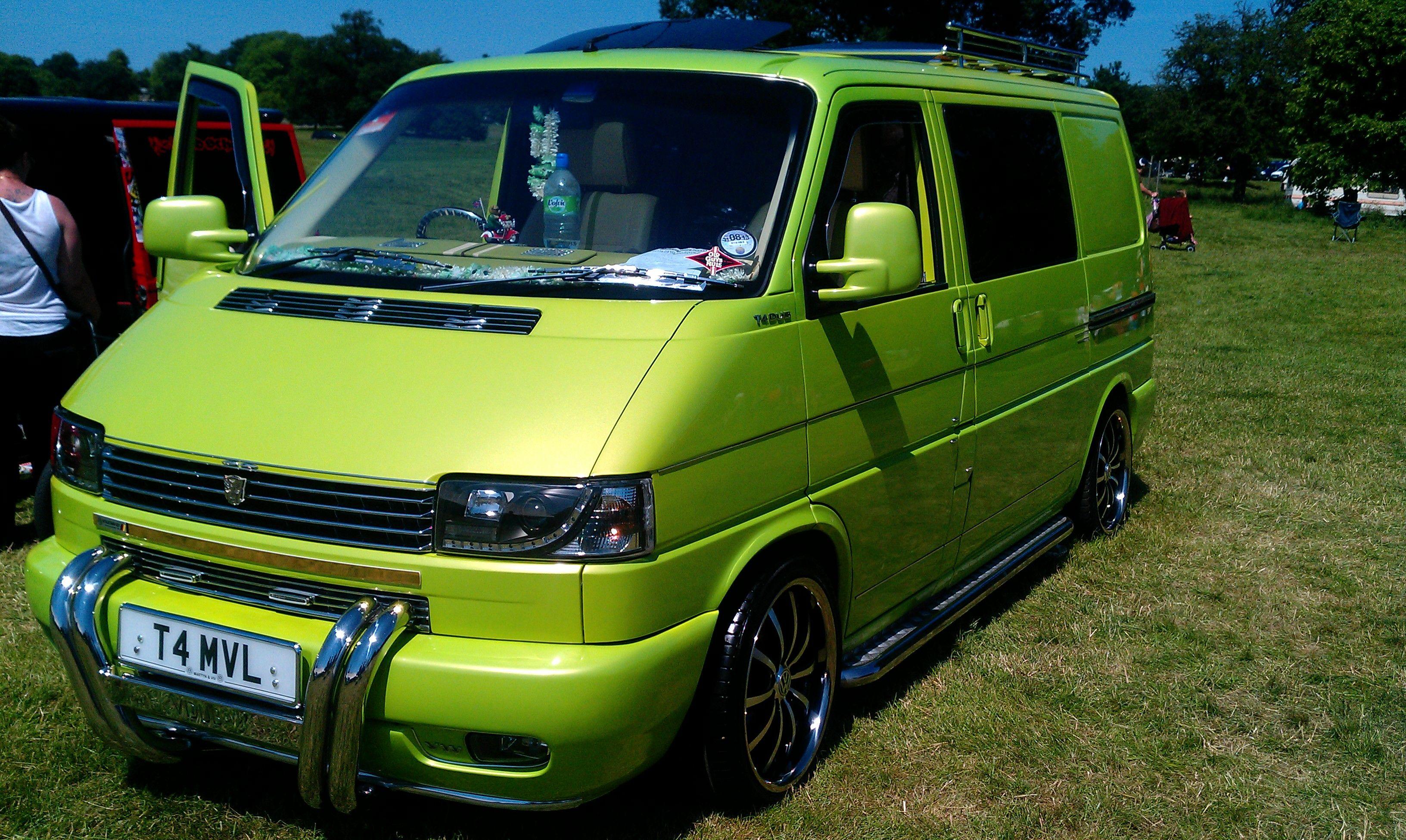 VW T4 At Camperjam Stunning Green Colour Vw Campervan