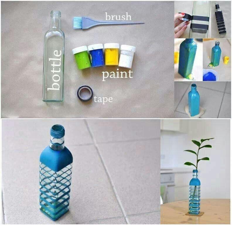 Vase/bottle painting idea!