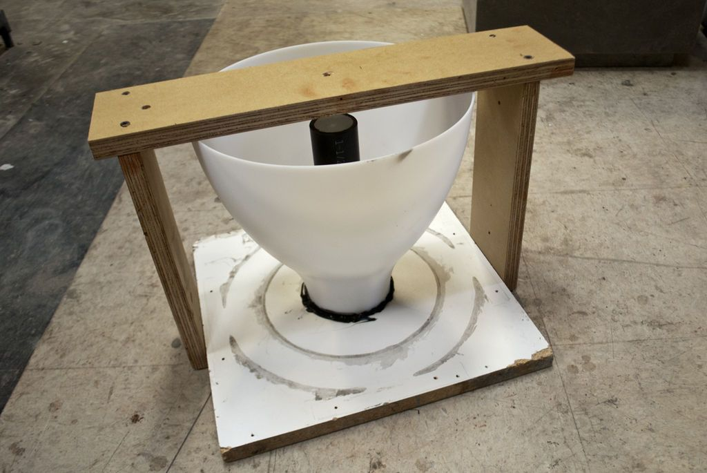 Concrete Umbrella Stand From Lamp Shade Concrete Lamp Concrete Lampshade Designs