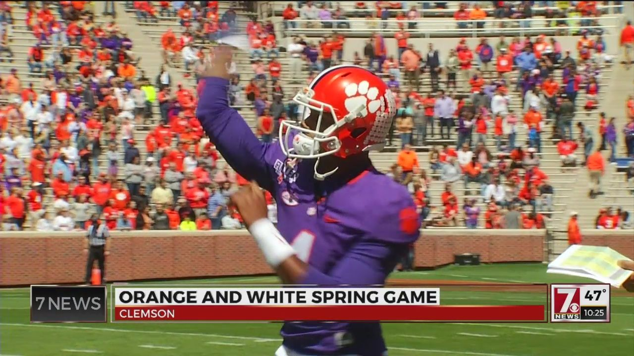 Record Crowd of 50,500 Turns Out For Clemson Spring Game