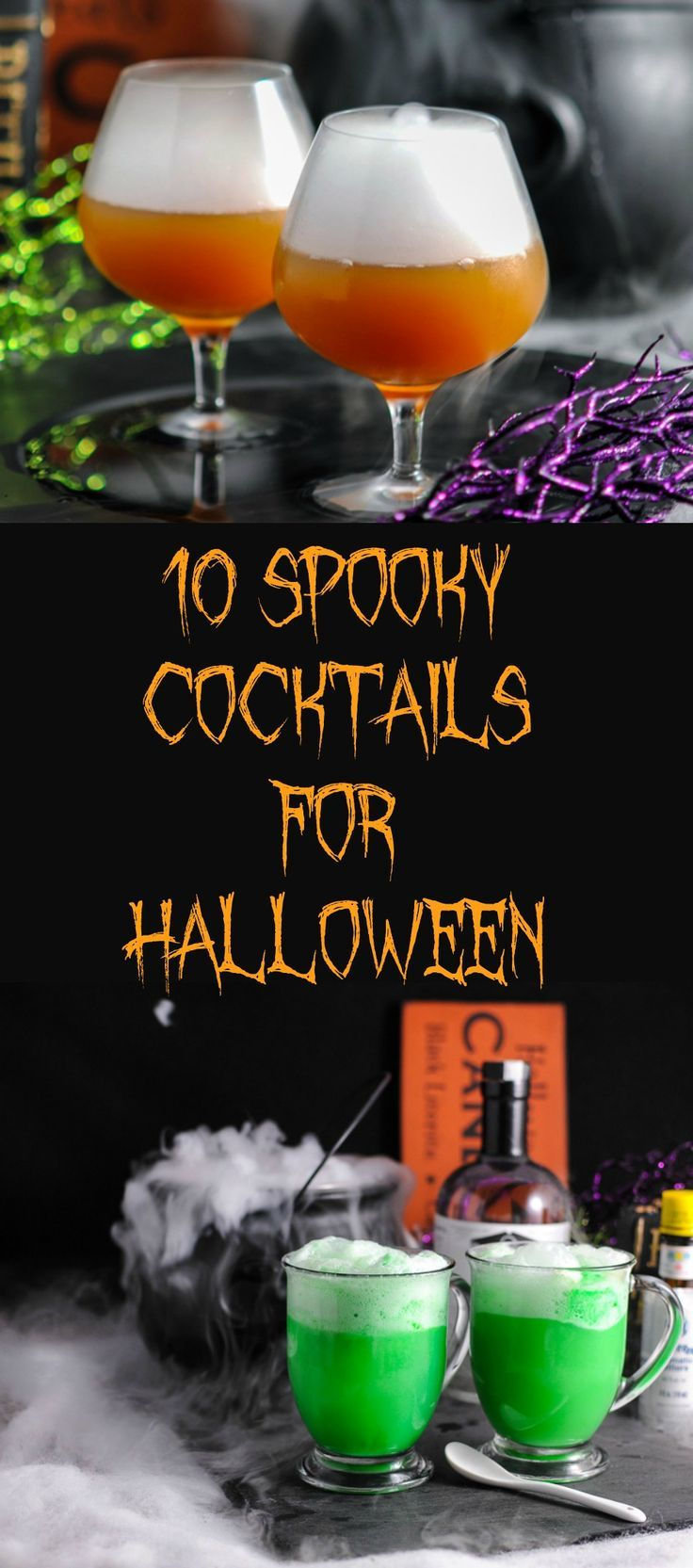 Halloween Cocktail Party Ideas Part - 38: 10 Spooky Cocktails To Get Your Halloween Started. Halloween DrinksHalloween  Party IdeasHalloween ...