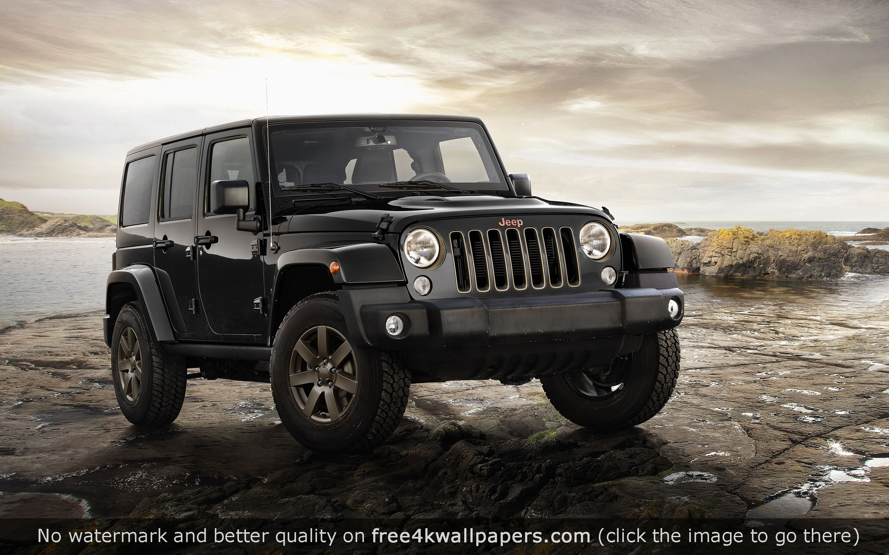 Jeep Wrangler 75th Anniversary Model Hd Wallpaper Custom Jeep