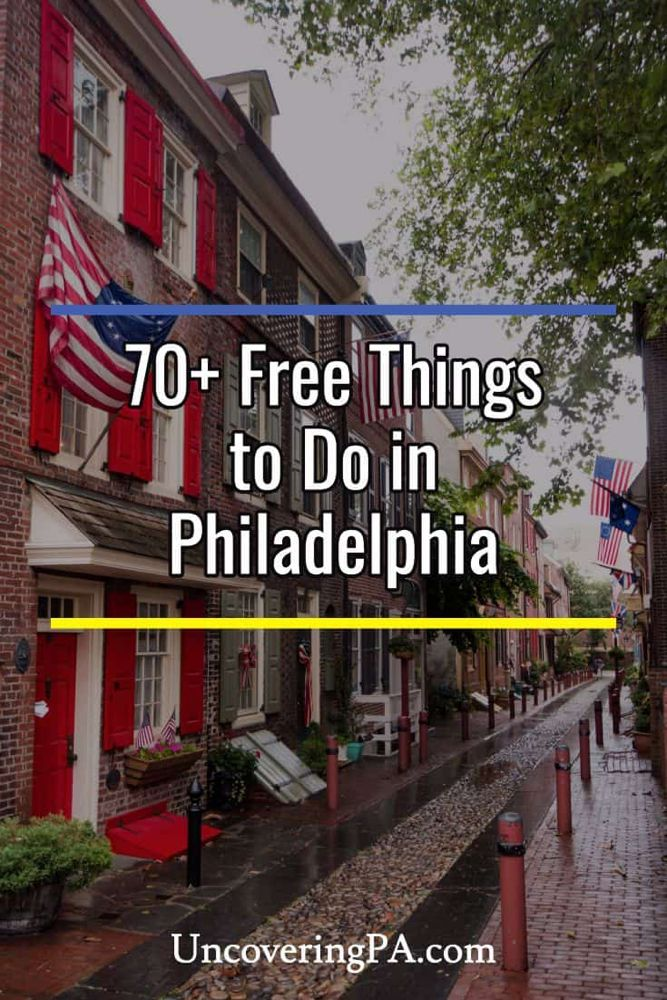 19 Free Things to Do in Philadelphia Free things to do