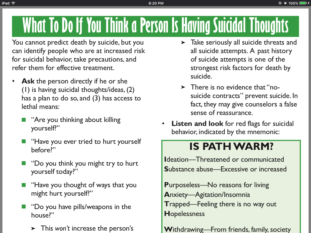Questions To Ask Suicide Risk Mental Health Pinterest Mental
